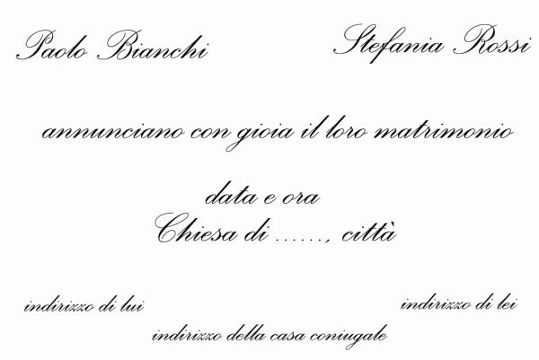 Partecipazioni Matrimonio Bon Ton.Partecipazioni E Inviti Di Nozze Le Regole Del Bon Ton